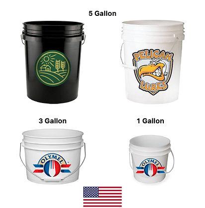 Plastic Bucket / Pail (USA)
