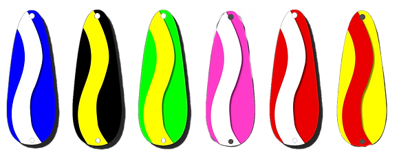 Jigging Lures - Art Series - Curve