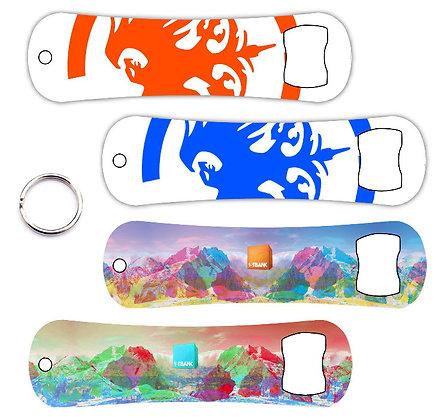 Snowboard Bottle Opener