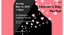 Mother's Day Recital
