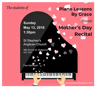 Mother's Day Recital