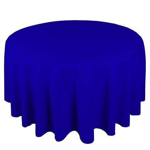 Dug polyester Ø300 cm, kongeblå / table cloth polyester Ø300 cm, royal blue