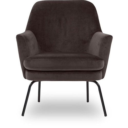 Chisa lænestol, varm grå / Chisa armchair, warm grey