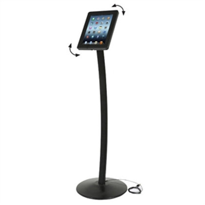 Universal buet tablet gulvstativ / Universal curved tablet floor stand