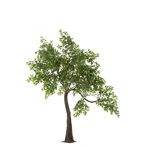 Stort kunstigt bøgetræ / Large artificial beech