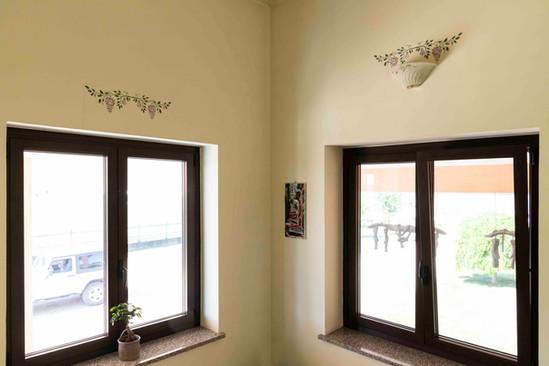 2 finestre in alluminio taglio termico.j