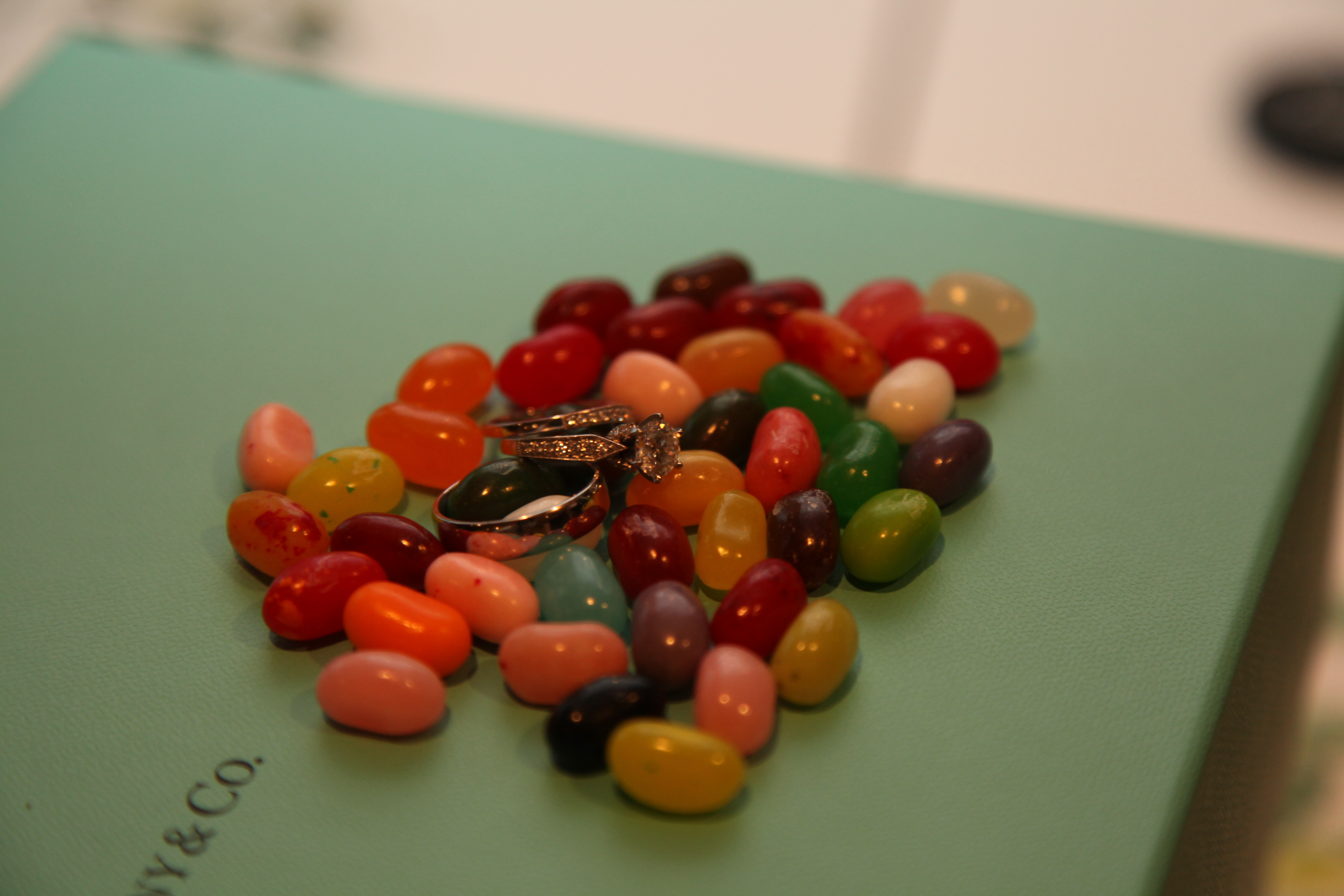 Rings in Jelly Beans