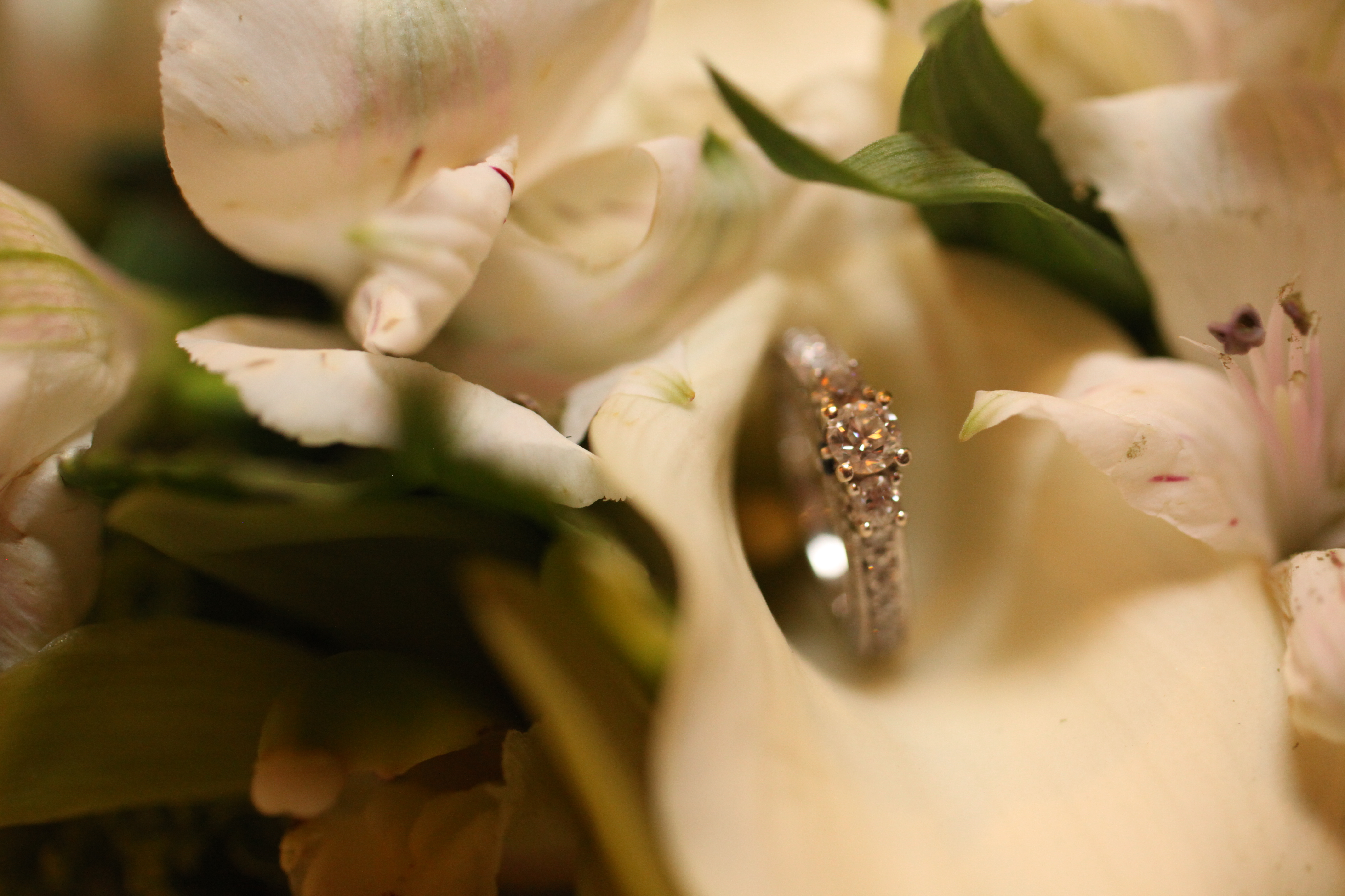 Ring in a Flower