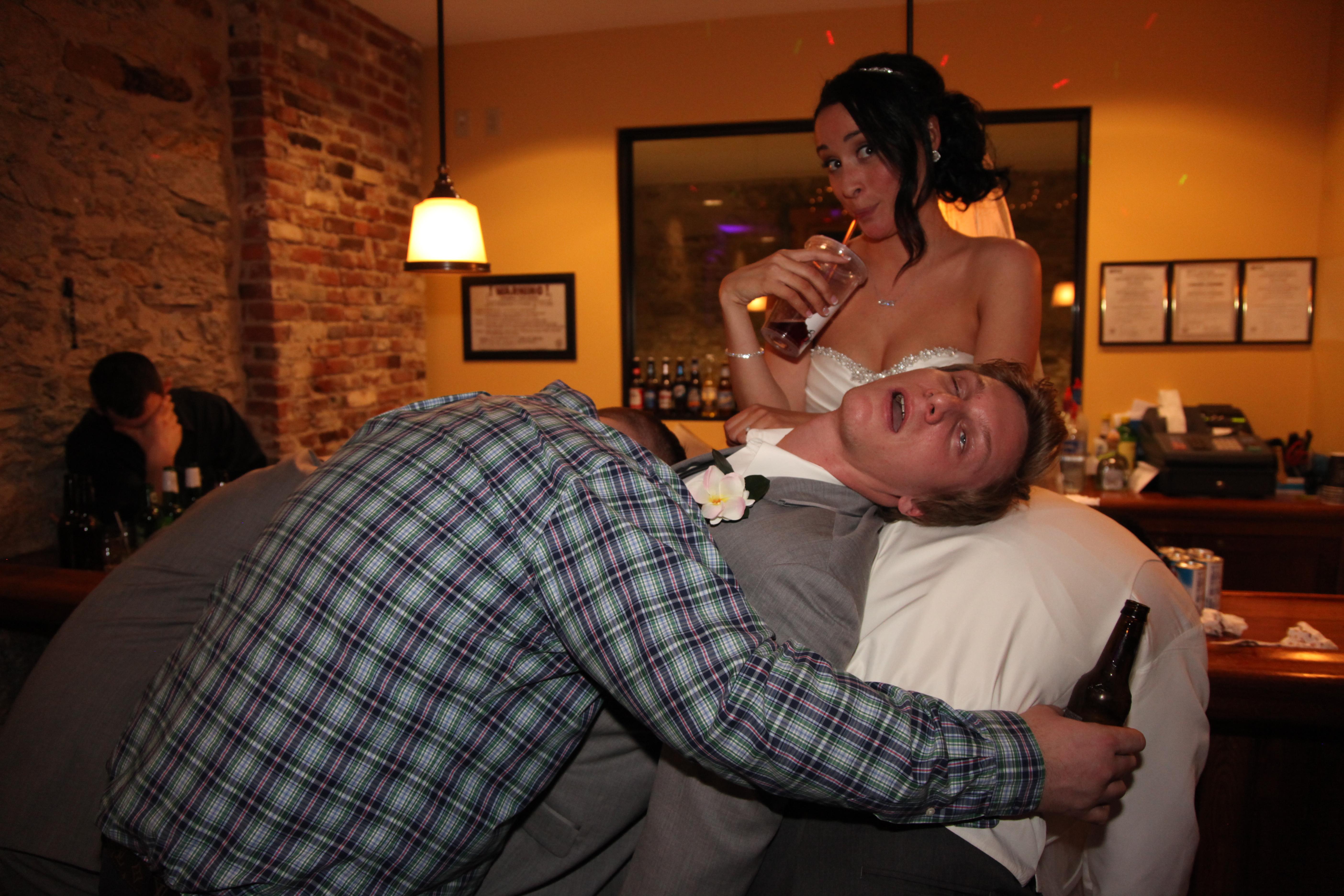 Drunken Bridal Party