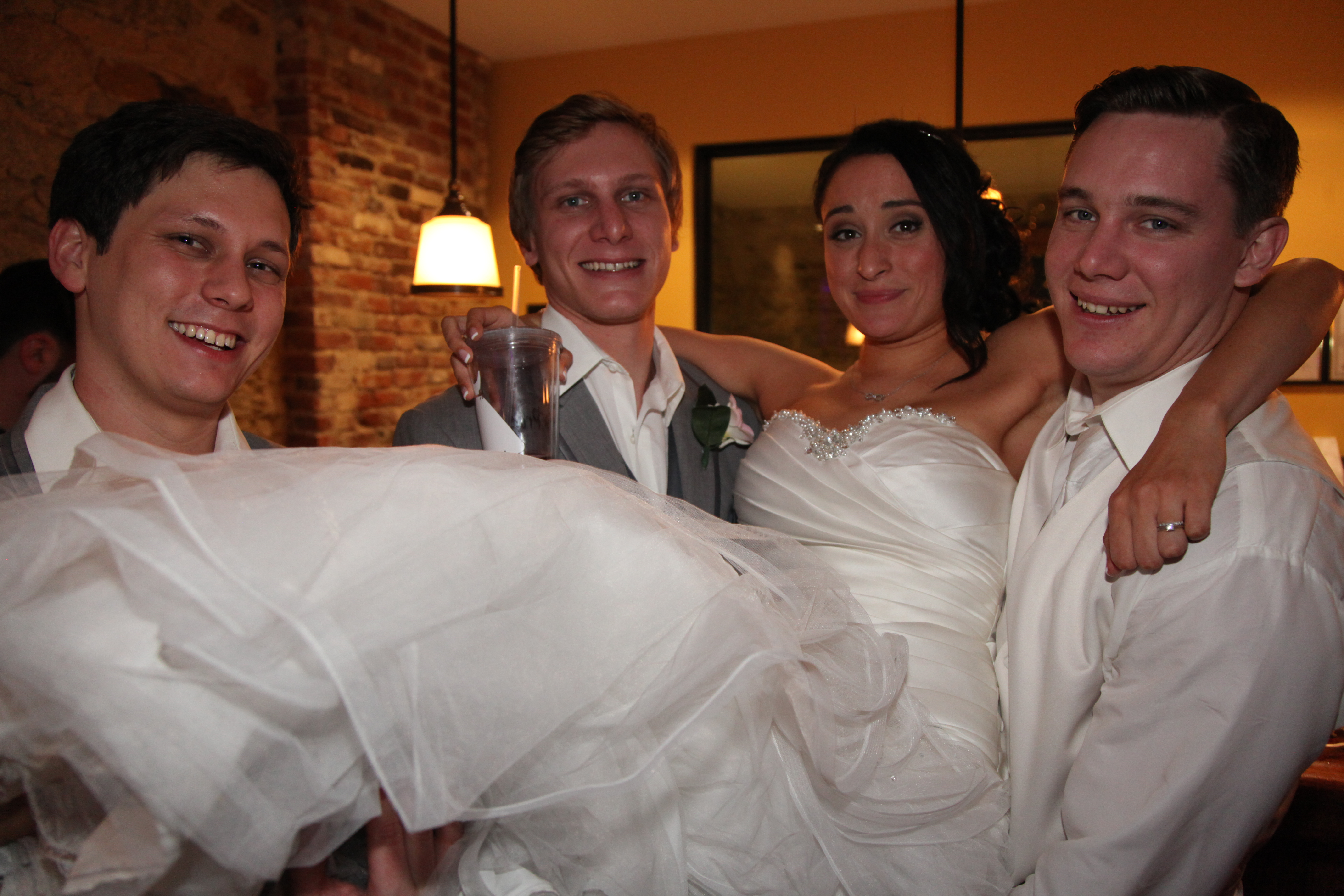 The Bride and the Groomsmen