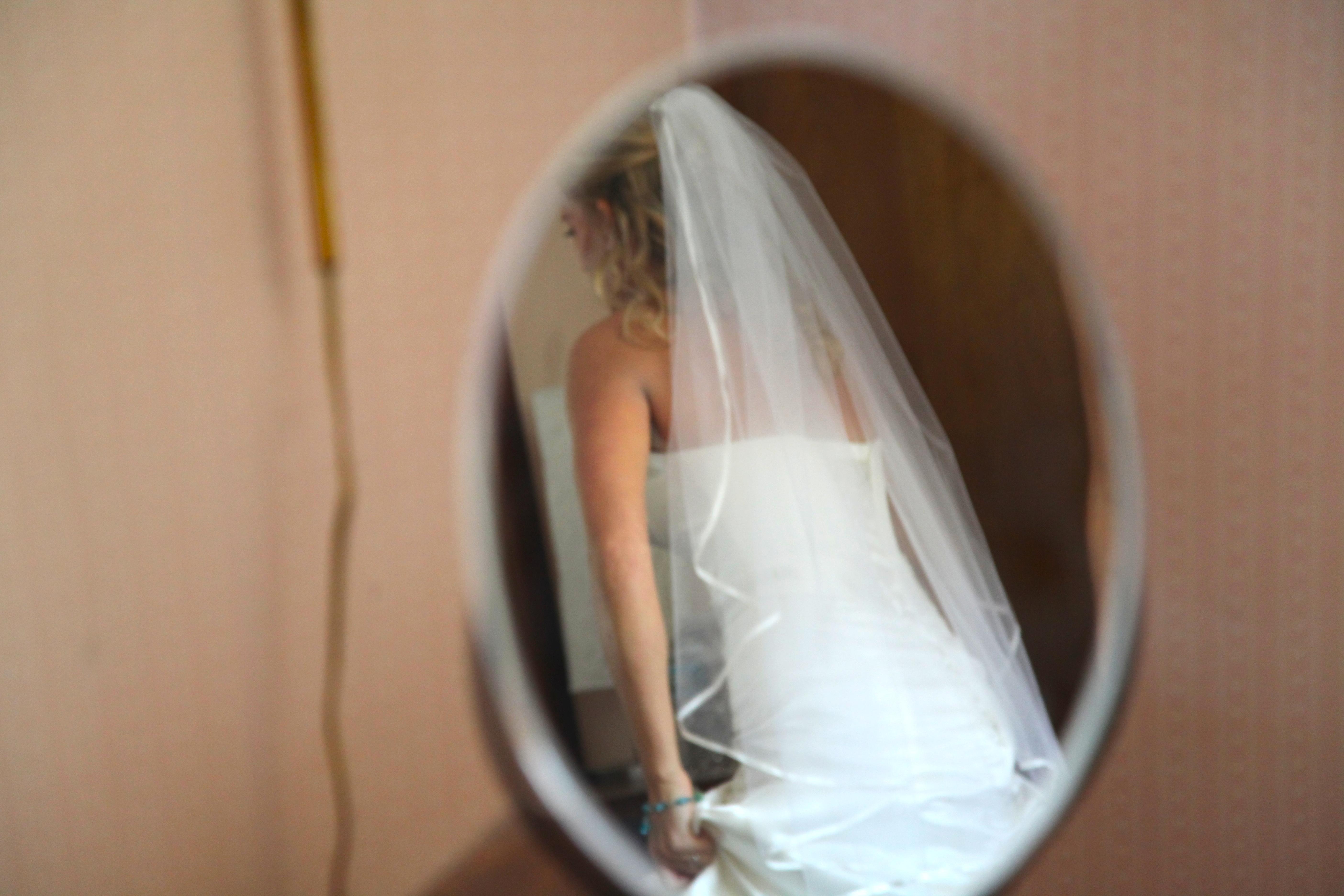 Bride in a Mirror