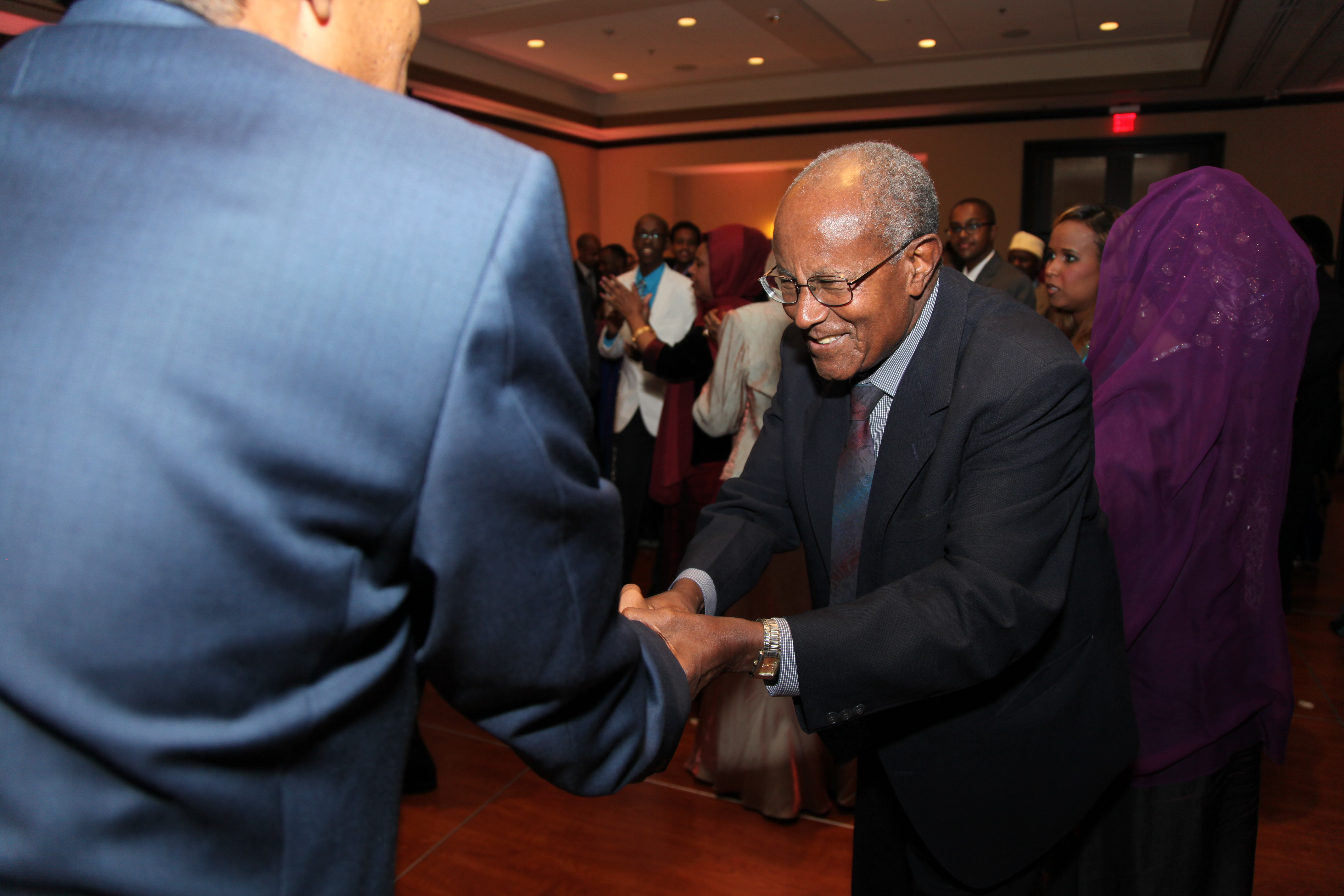 Reception handshake