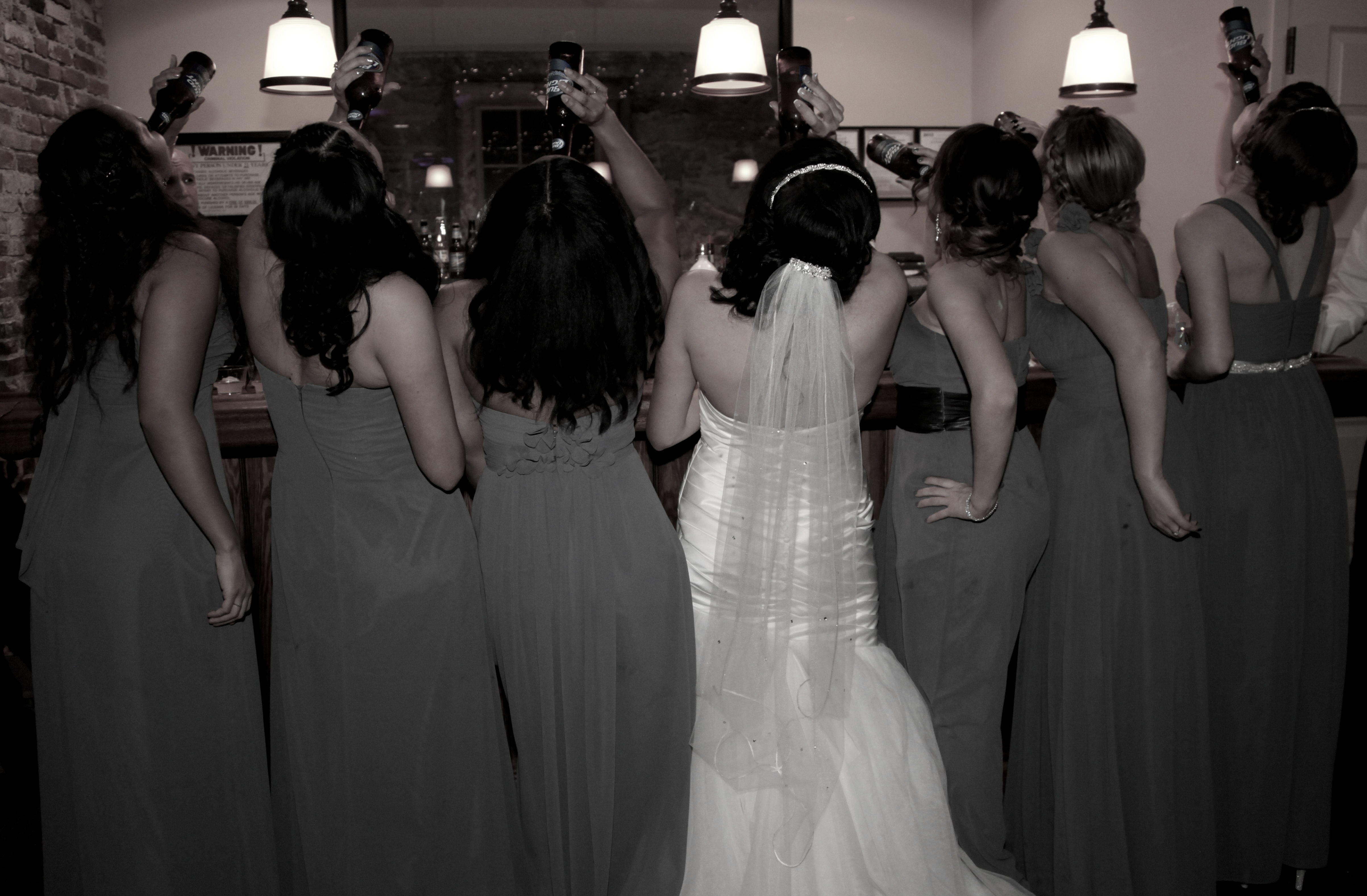 Bridal party drink