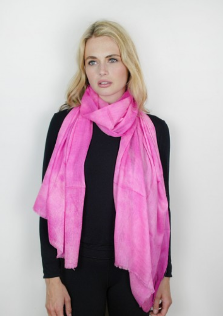 Rosa Cashmere & Silk Tie-Dye Wrap