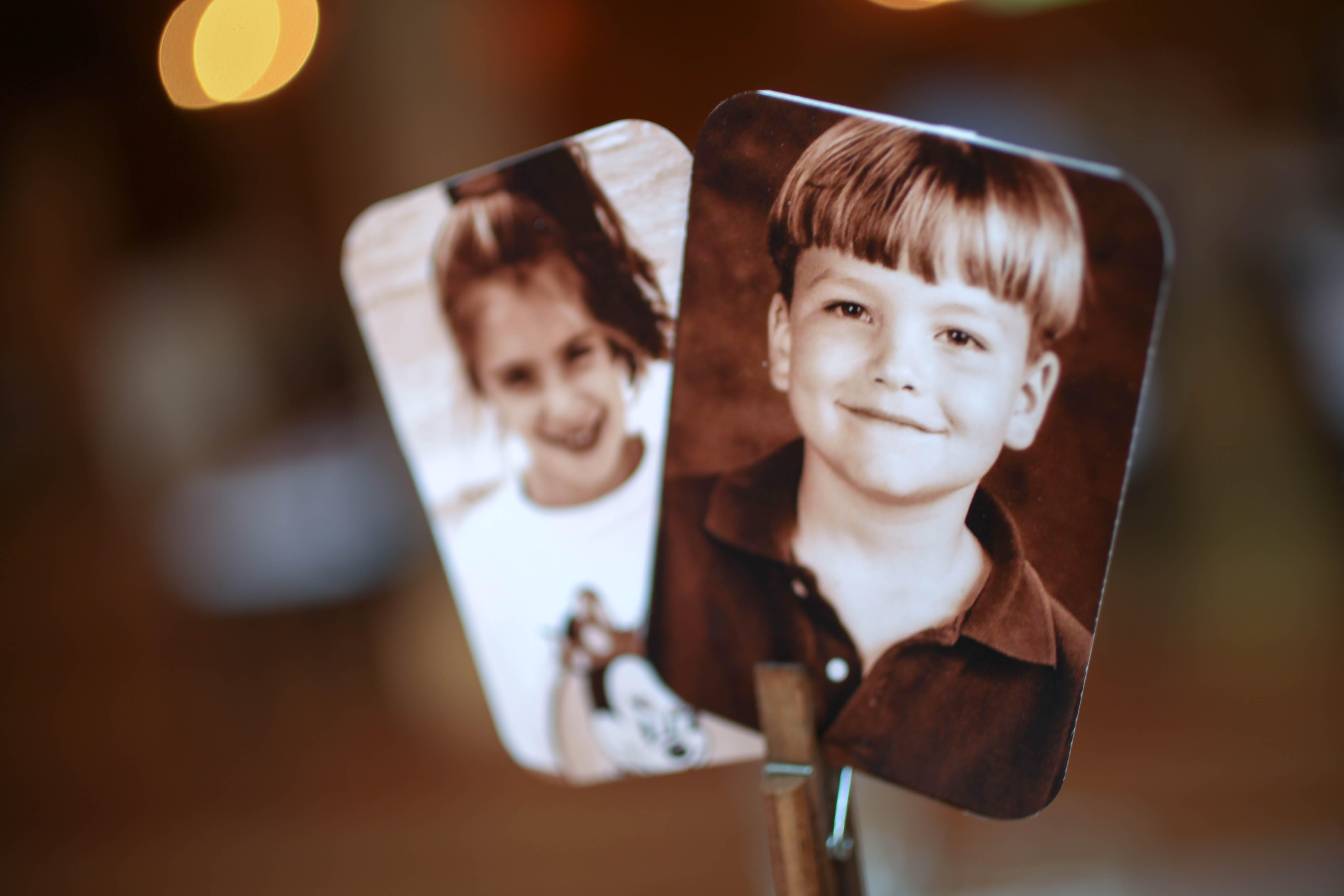 Young Photo Centerpiece