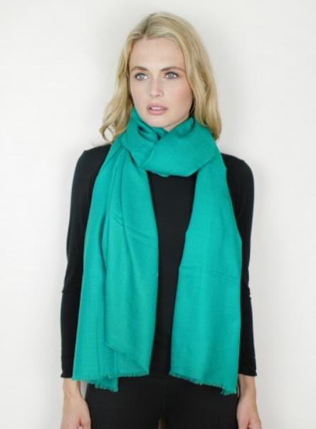 Verde Cashmere & Silk Tie-Dye Wrap