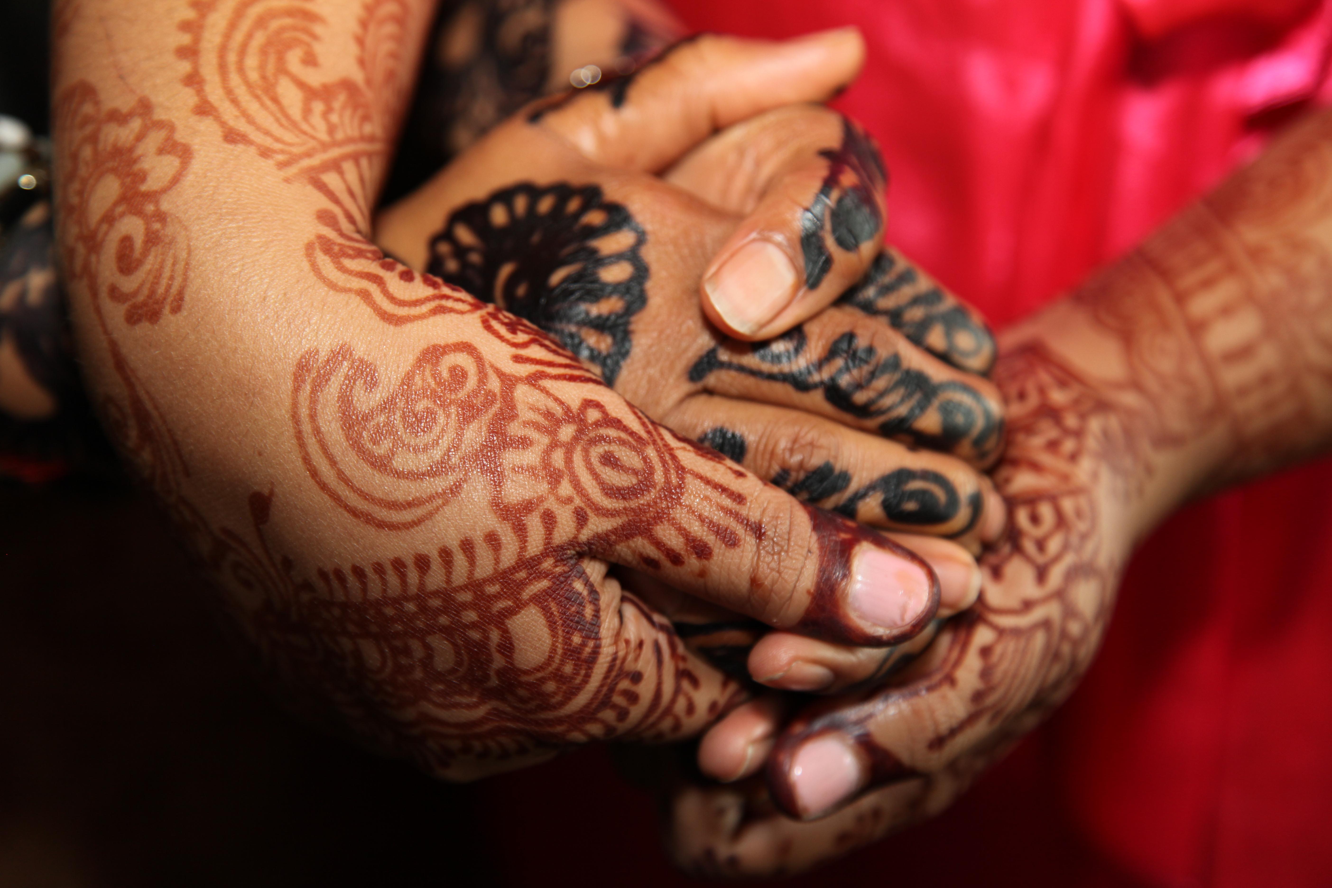 Wedding Henna Hands