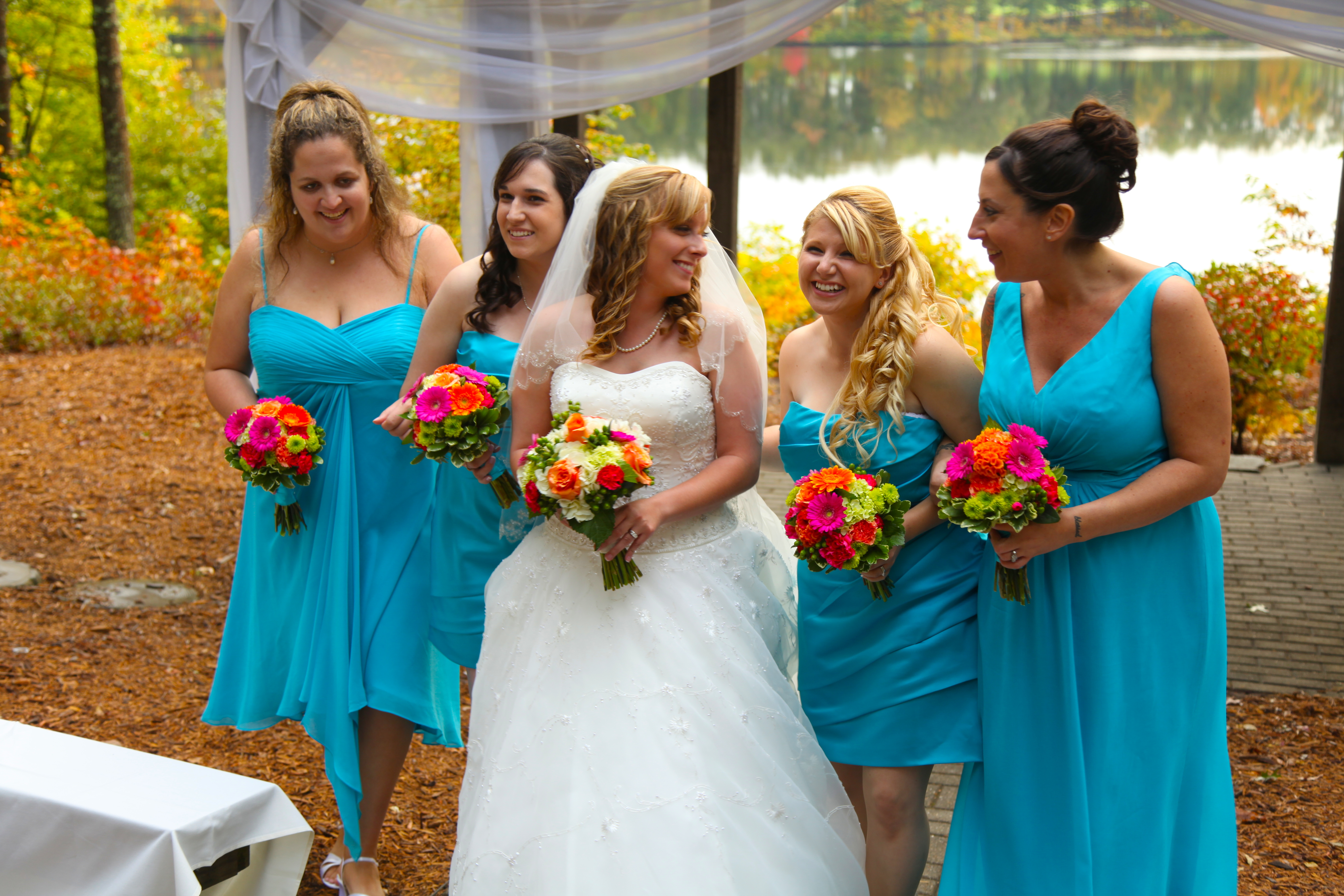 Baby Blue Bridesmaid Dresses