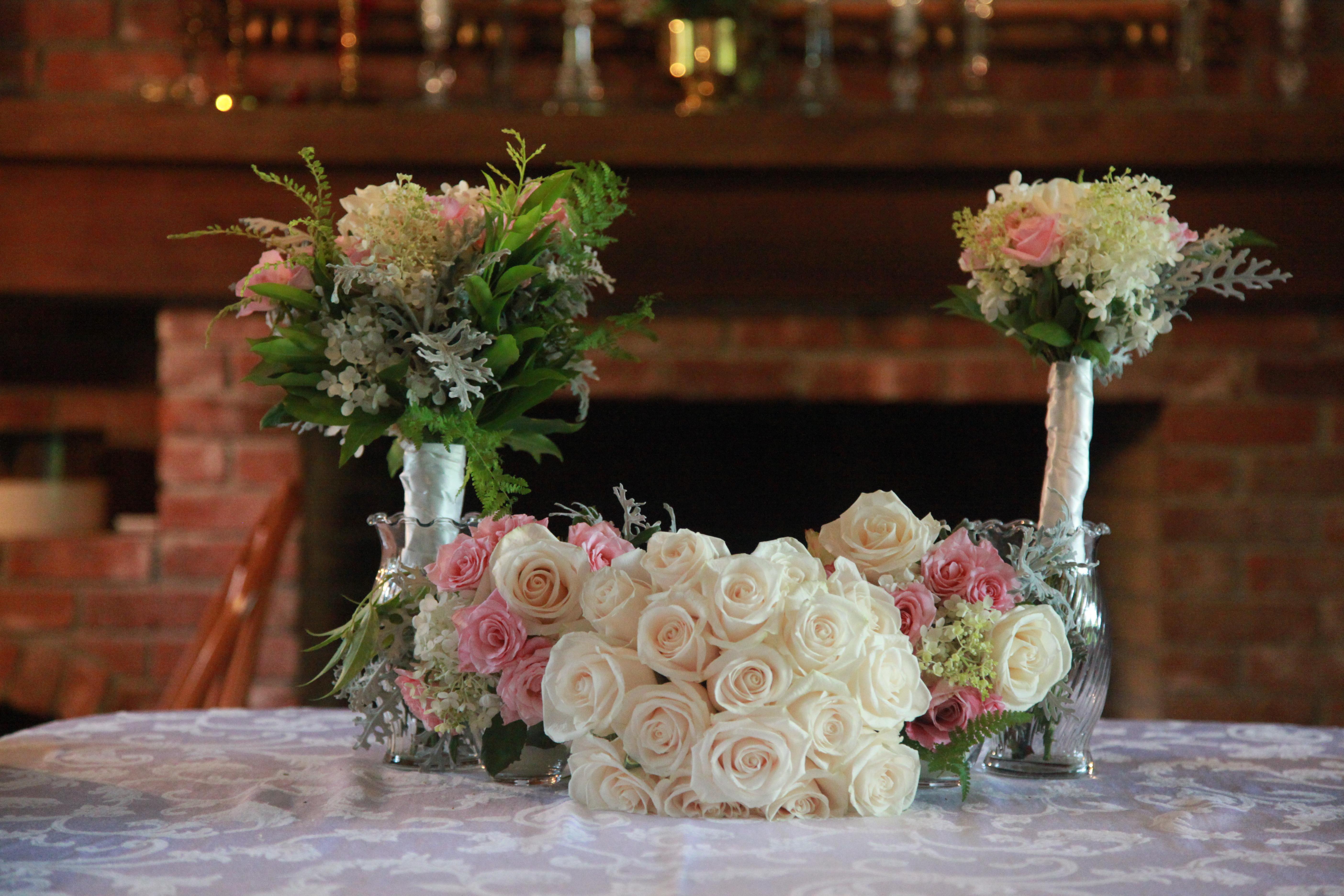 Wedding Flower Displays