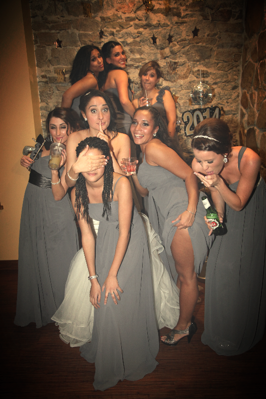 The Wedding Party Parties!
