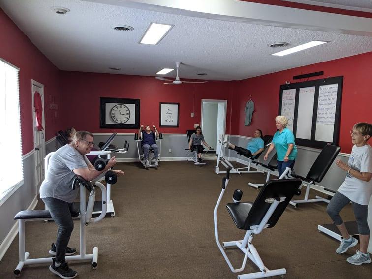 Circuit Style Strength Training