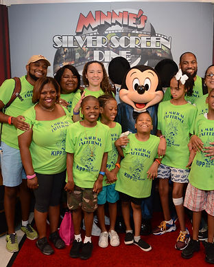 KIPP Leadership Special Needs Program students at Disney World thanks to the sponsorship of audiologist center High Level Speech & Hearing Center in Harahan, LA