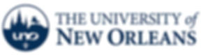 University of New Orleans logo representing the university partnerships of the audiologists at High Level Speech & Hearing Center in New Orleans, LA