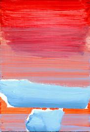 New Dialogue // red~orange + blue