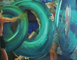 Rings in green