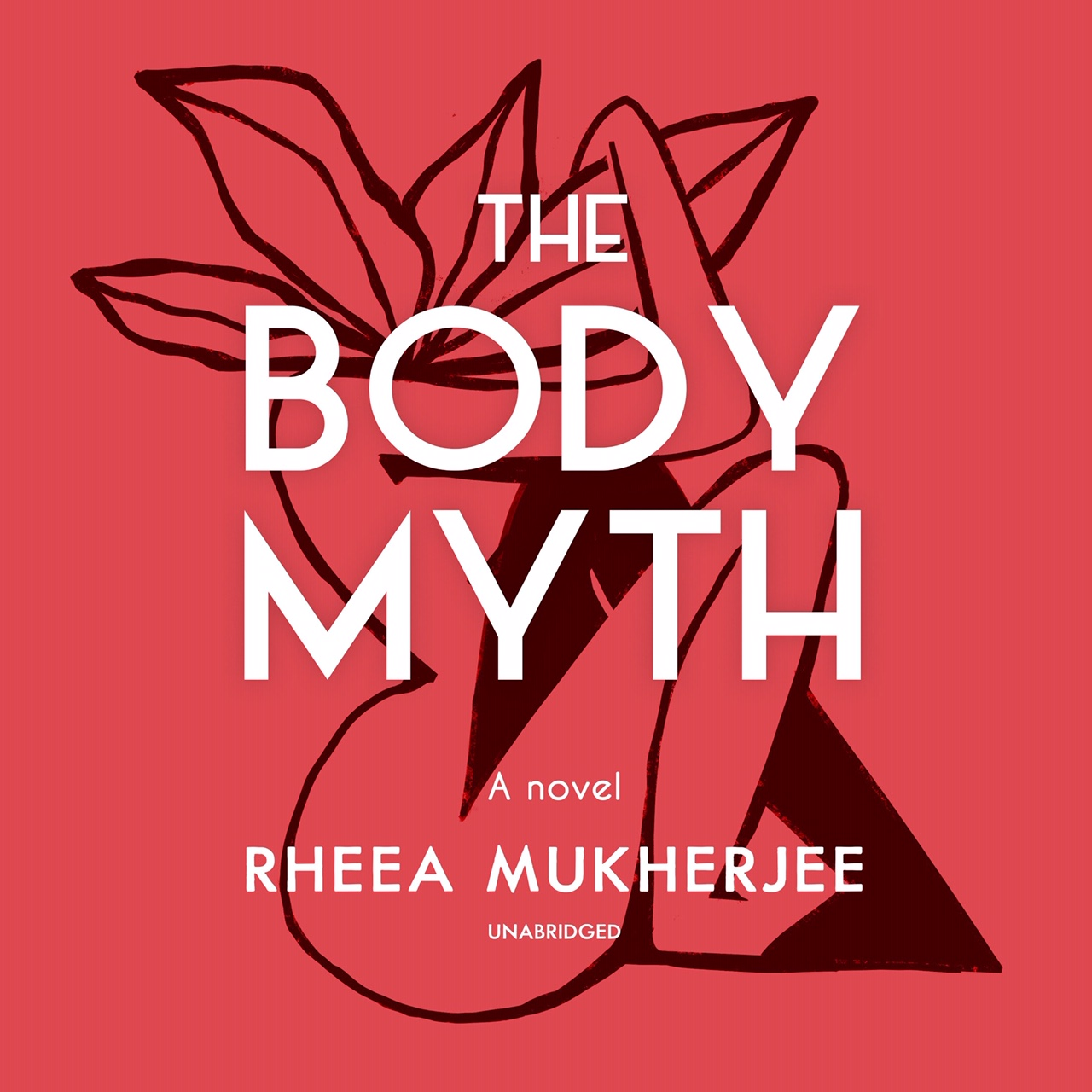 Audiobook cover design for The Body Myth