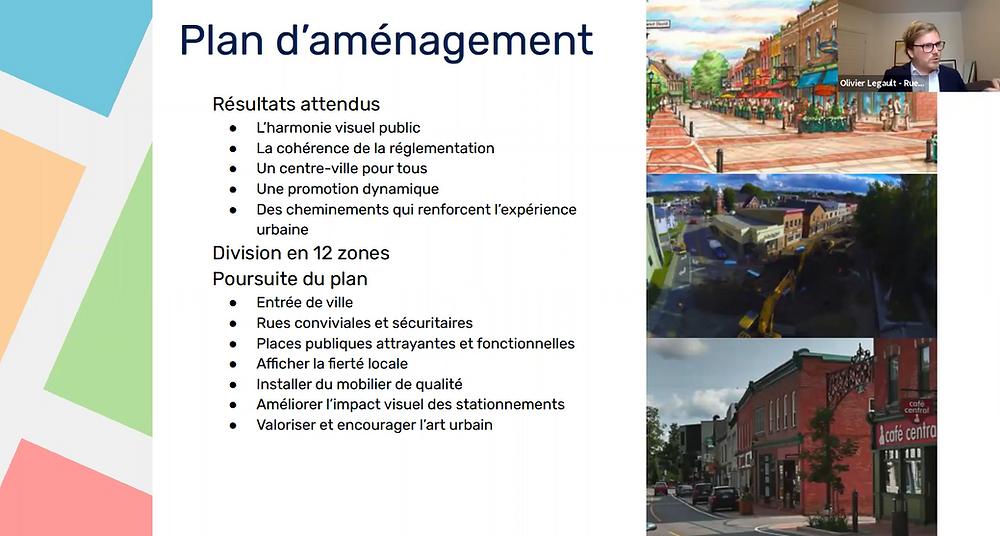 plan aménagement commerces environnement urbain