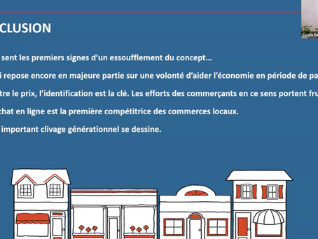 Résultats étude bleue, l'achat local au Québec : entre intentions et actions (Partenaire : Léger)