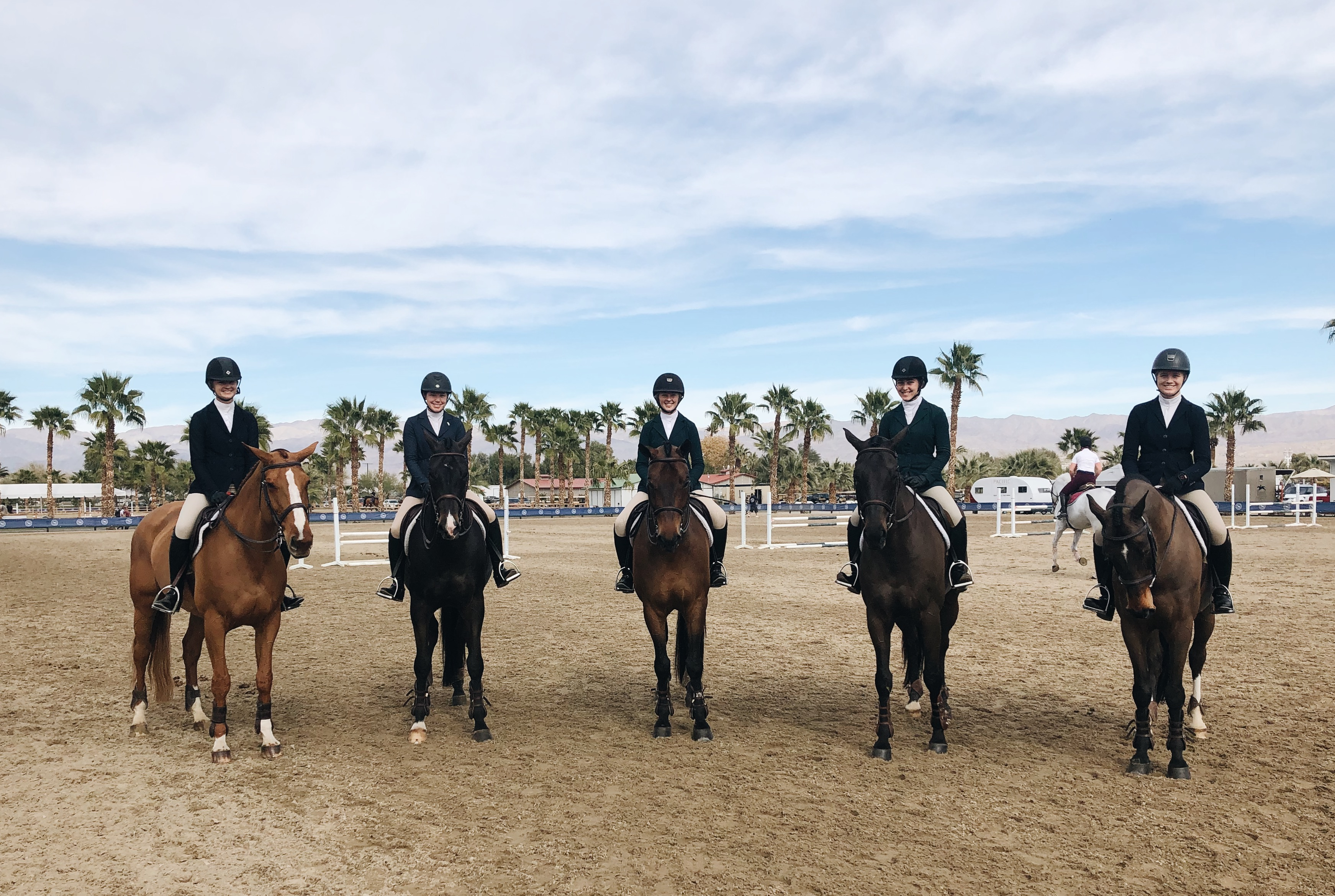 EE Show Stable Group Photo