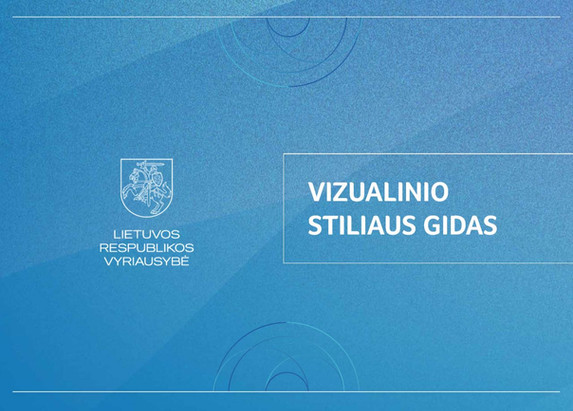 Brandbook of Governement of Republic of Lithuania