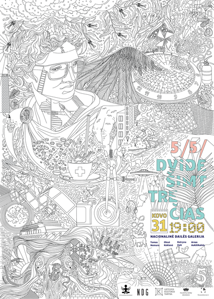 Poster for 5/5/ creative talks