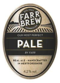 Farr Brew Pale Proudly Served at Ye Olde Fighting Cocks