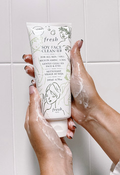 Content Creation: Fresh Limited Edition Soy Face Cleanser