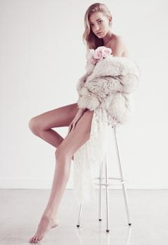Madi Photographed by Christian Blanchard