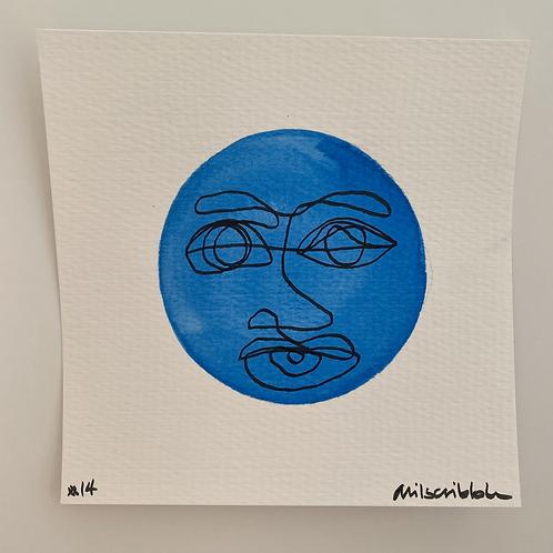 Mini Watercolor - No. 14