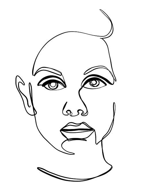 Portrait No.3 - 8x10 Print