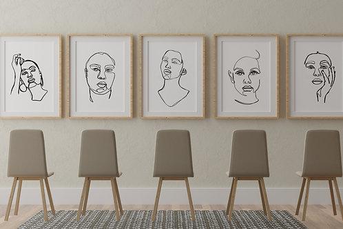 Entire Portrait Series - 8x10 Prints
