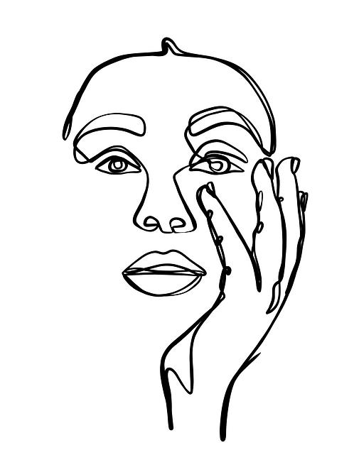 Portrait No. 1 - 8x10 Print