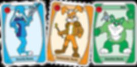 JUPITER Blue Bunny Cards