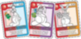 QUEST Khaki Bunny Cards