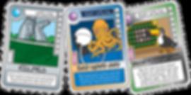 QUEST Creature Feature cards