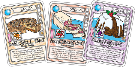 QUEST Cake Batter Cards