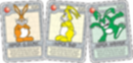 QUEST Steel Bunny Cards