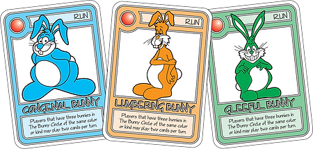 QUEST Blue Bunny Cards
