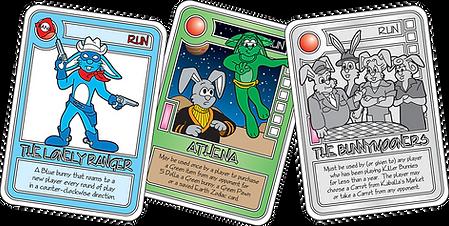 QUEST Khaki Run Cards