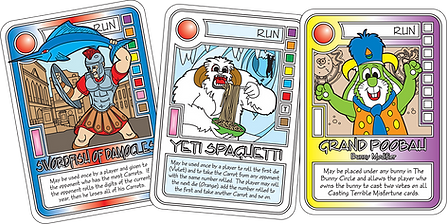 QUEST Creature Feature cards